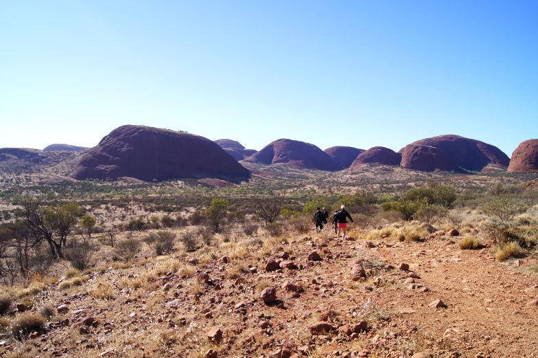 australien outback kata tjuta walk