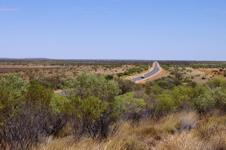australien outback strasse