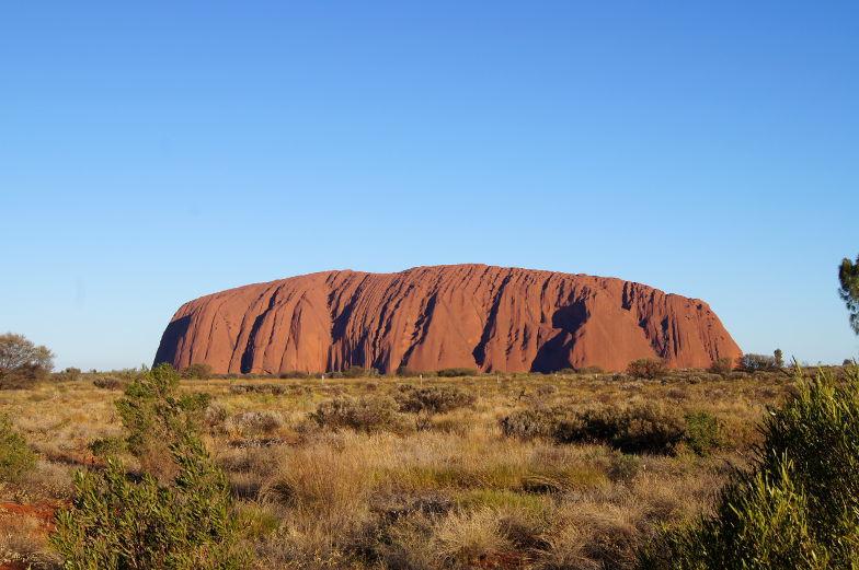 australien outback uluru sunset boulevard