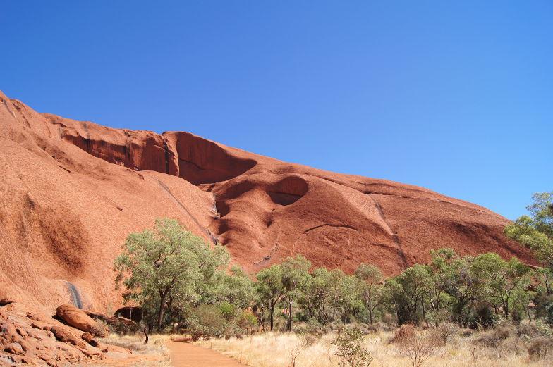 australien outback uluru walk