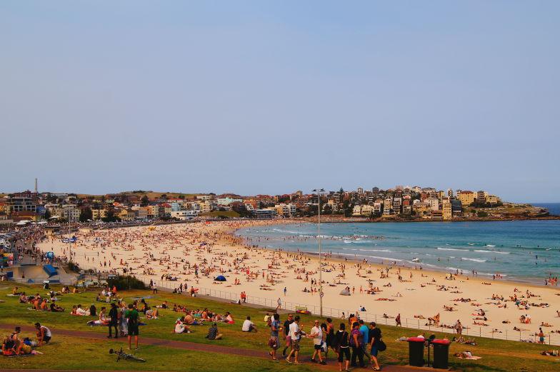 Sehenswuerdigkeiten Sydney Bondi Beach