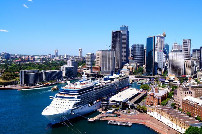 Sydney Circular Quay Hafen Sehenswuerdigkeiten