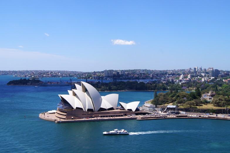 Sydney Tipp tolle Aussicht vom Pylon Lookout Sehenswuerdigkeiten