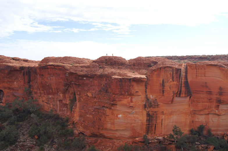 autralien outback kings canyon felsen