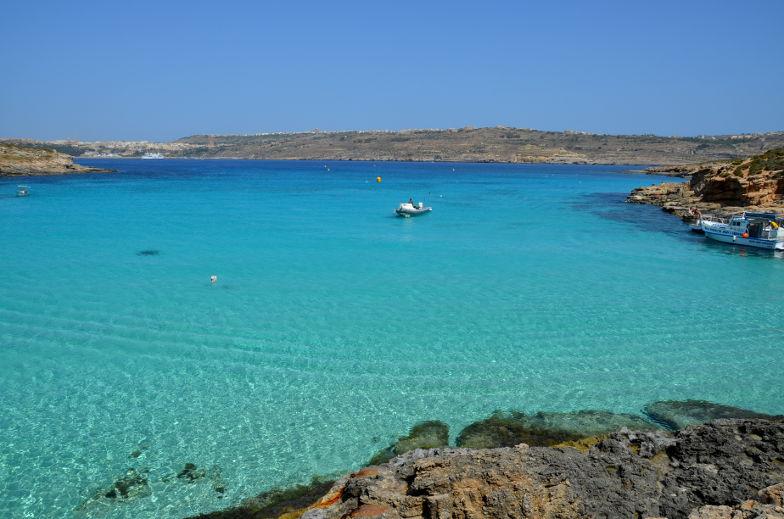malta comino blaue lagune