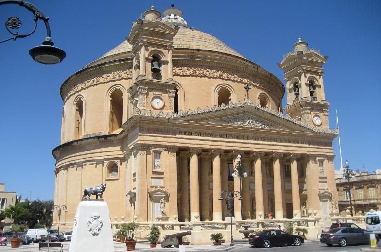 malta mosta rotunda kirche
