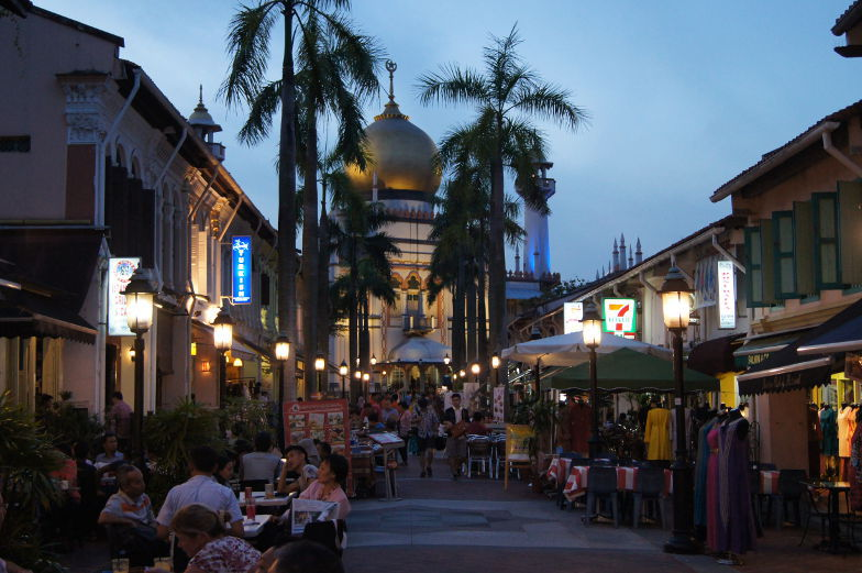 Sehenswuerdigkeiten Singapur arabisches Viertel