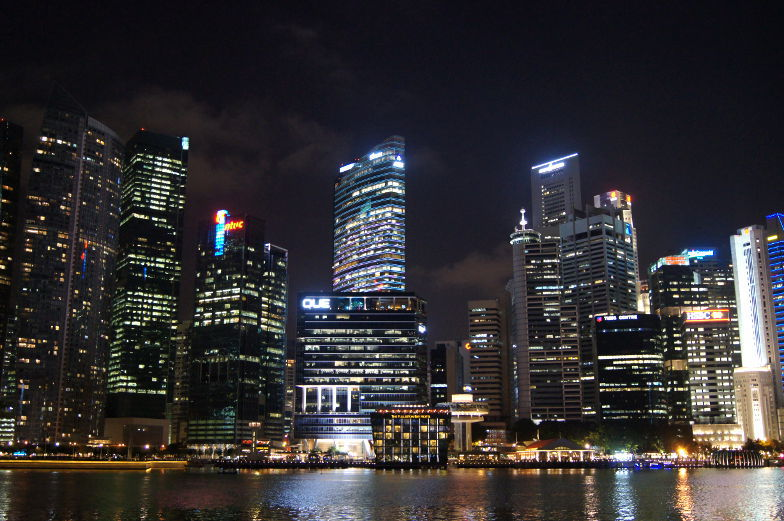 singapur business district