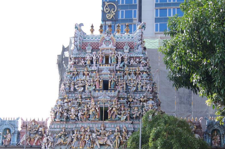 Singapur Sehenswuerdigkeiten indischer Tempel