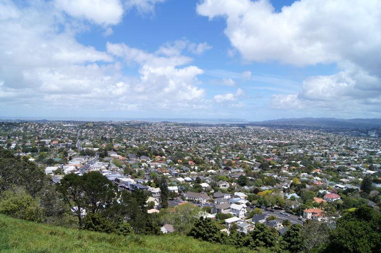 Sehenswuerdigkeiten in Auckland Mt. Eden Neuseeland