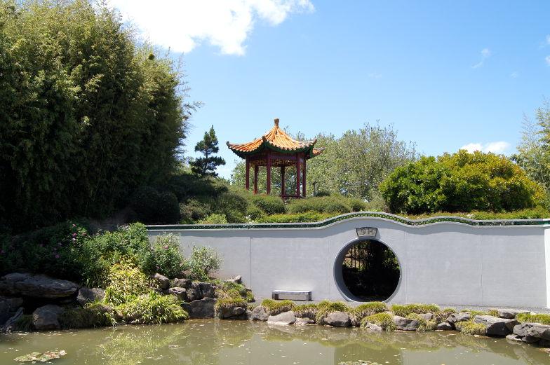 Themenbereich China im Hamilton Garden