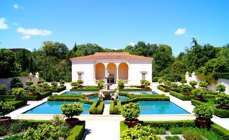 Themenbereich Italien im Hamilton Garden