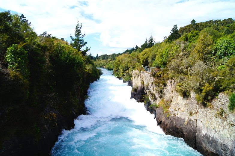 Ausflugstipp Wasserfall in Taupo Neuseeland