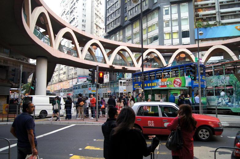 Viel Trubel in Hongkongs Innenstadt