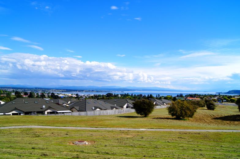 Beste Aussicht über Lake Taupo