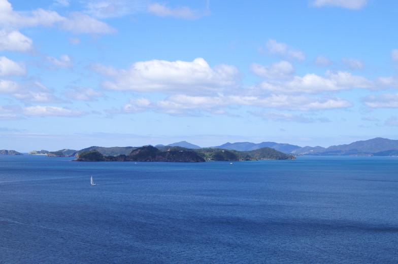Blick auf das Meer und auf die Bay of Islands