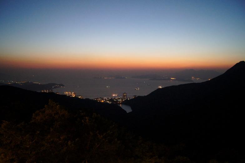 Sonnenuntergang Hongkong