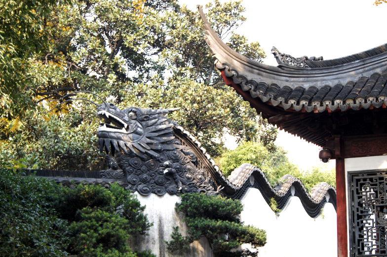 Sehenswuerdigkeiten im Yu Garden Shanghai