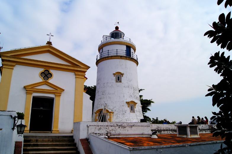 Der hoechste Punkt auf Macau der Guia Leuchtturm
