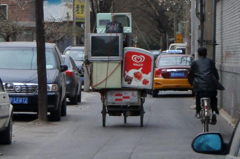 Spaziergang durch Peking