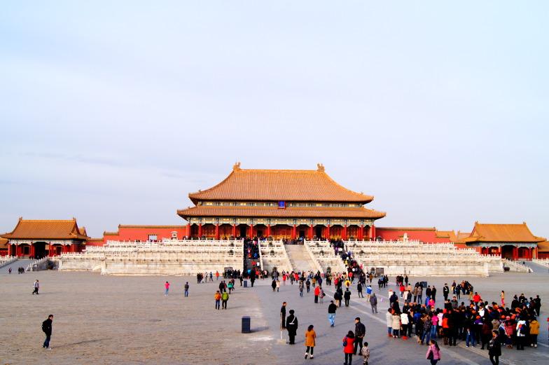 Tempel Verbotene Stadt Peking