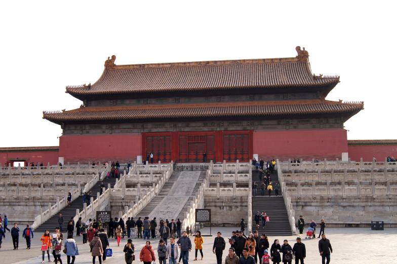 Chinesischer Tempel in Peking