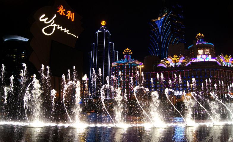 Wynn Fontaenenshow in Macau
