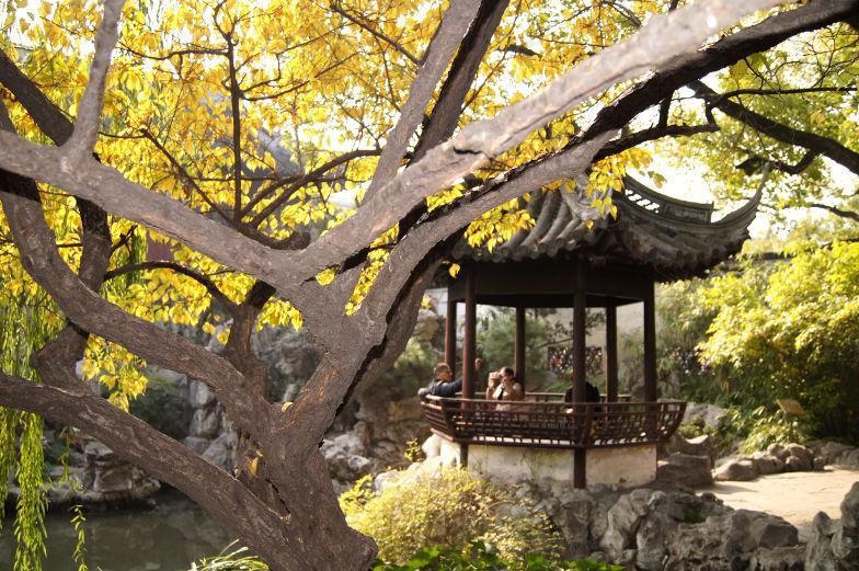 Ausflug zum Yu Garden Shanghai
