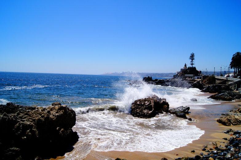 Kueste Vina del Mar