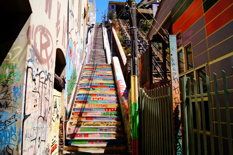 Treppe Valparaiso