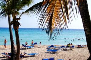 Schoener Strand in Bayahibe Dominikanische Republik Urlaub