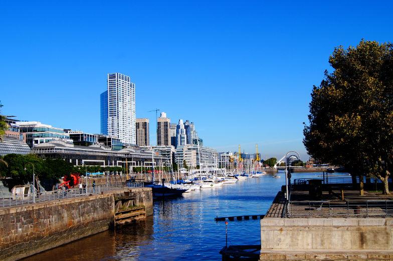 Puerto Madero ist der neuste Stadtteil von Buenos Aires