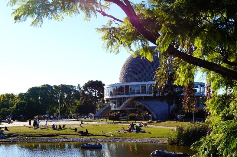 In Buenos Aires kann man auch ein Planetariumbesuch einplanen