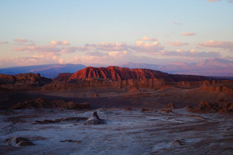 Felsen in der Atacama mit Ähnlichkeit des Uluru