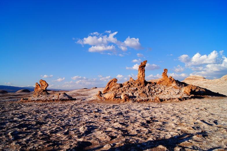 Naturskulptur mittten in der Atacama
