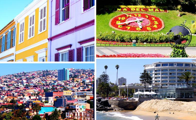 Unterschiede zwischen Vina und Valparaiso