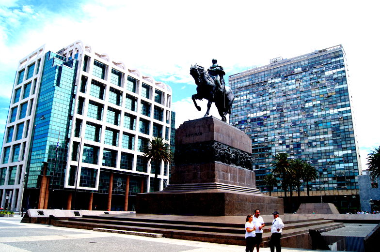 Artigas Kaempfer fuer die Unabhaenigkeit von Uruguay