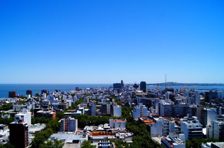 Der beste Ausblick auf Montevideo