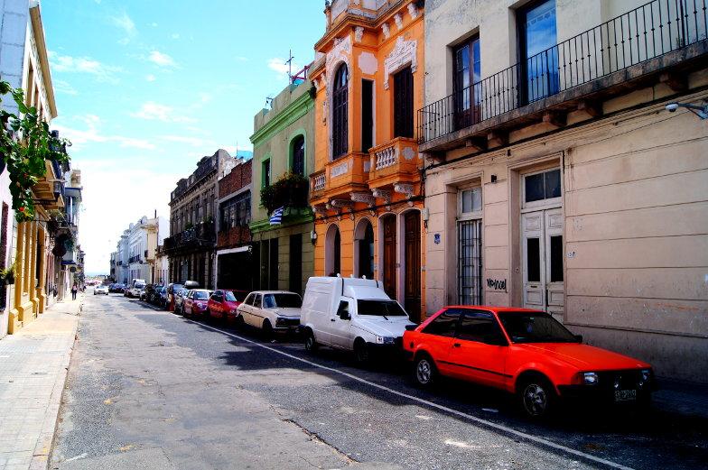 Ciudad Vieja Altstad Sehenswuerdigkeiten ruhige sehenswerte Gassen in Montevideo