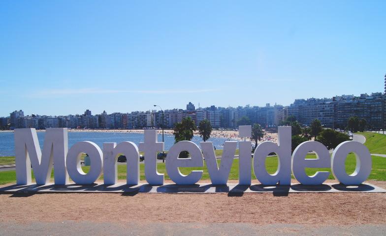 In Montevideo der Hauptstadt von Uruguay kann man viel entdecken