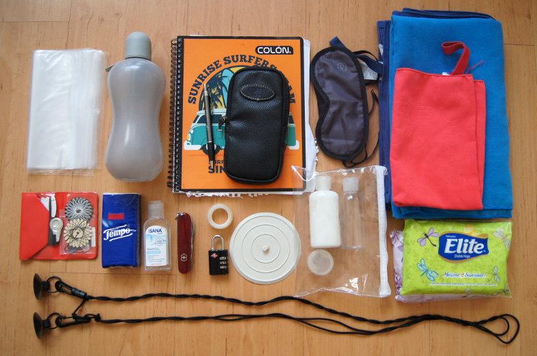 Unverzichtbare Dinge die auf einer Weltreise mit muessen und auf der Packliste stehen sollten