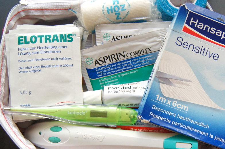 Welche Medizin soll auf die Weltreise Packliste