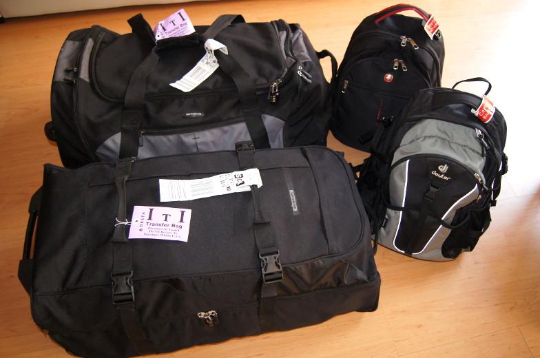 Zur Weltreise Packliste benoetigst du zuerst gutes Gepaeck