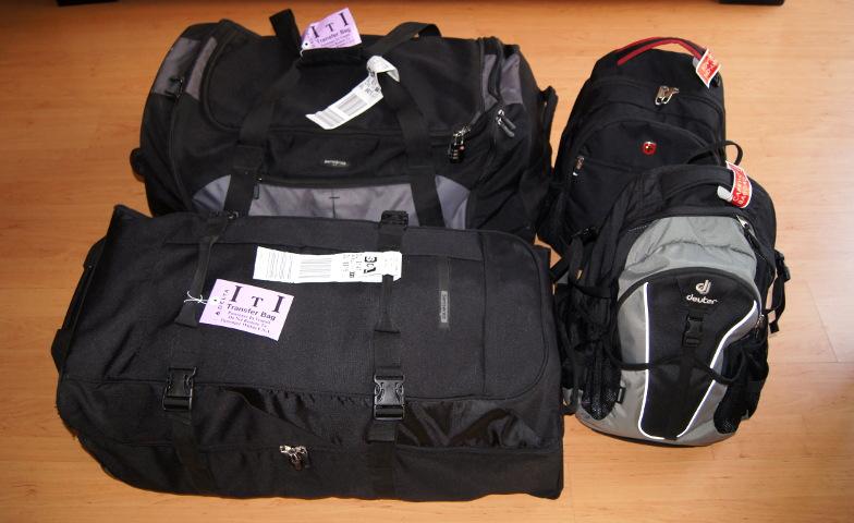 Zur Weltreise Packliste benoetigst du zuerst gute Reisetaschen
