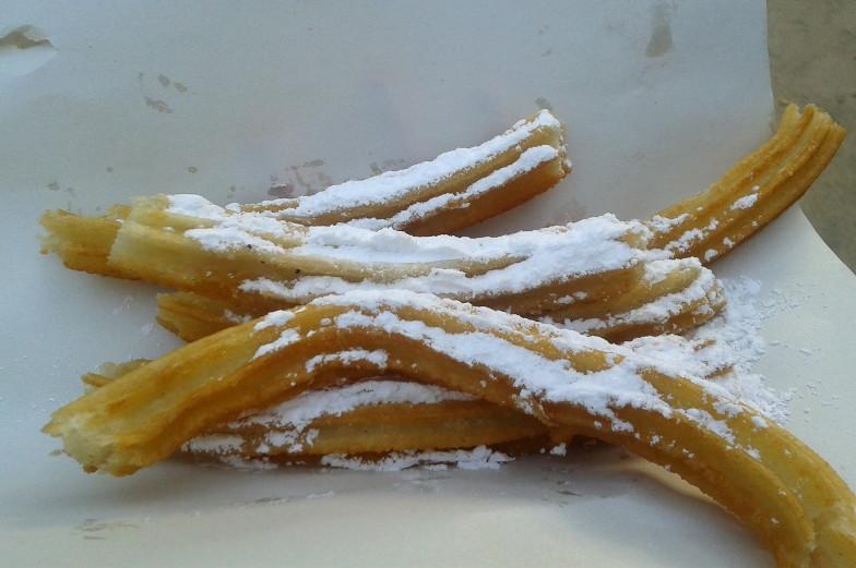 Mein Lieblingsessen Churros leckere Süßspeise gibt es in Santiago de Chile