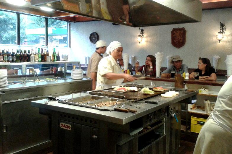 Restauranttipp Fuente Alemana in Santiago de Chile