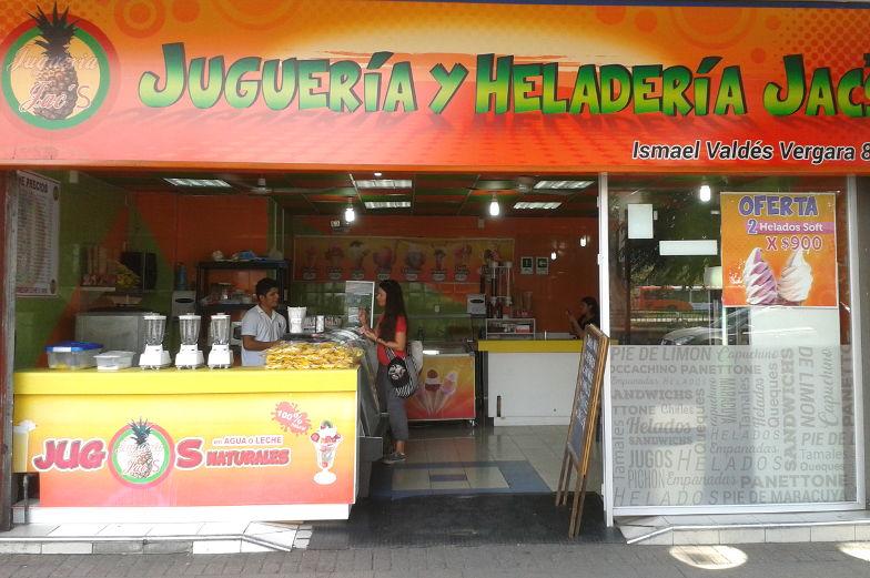 Tipp Frischer Saft kannst du dir in vielen Saftbars in Santiago de Chile bestellen