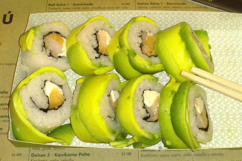 Beste Sushi Varianten im Yokono in Santiago de Chile