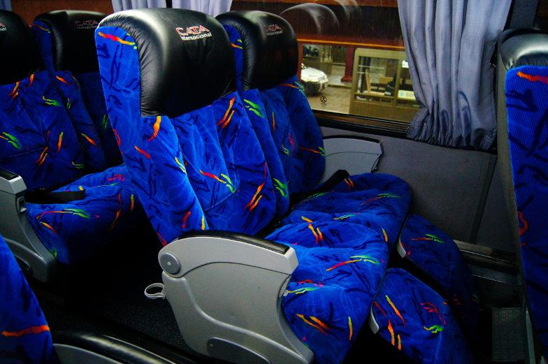 Semi Cama Bussitzplaetze fuer die Buchung deines Bustickets von Santiago nach Mendoza