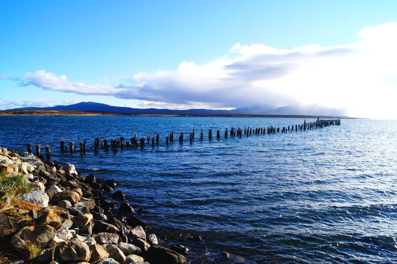 Alter Steg Puerto Natales